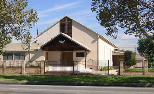 Вид Дома Молитвы Евангельской Христианской Церкви (2005 год)